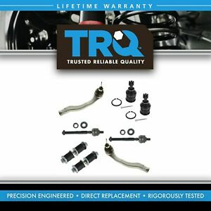 Trq Ball Joint Sway Bar Link Tie Rod Ends Kit Set For 96 00 Honda Civic New