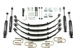 New Zone Offroad J28n 4 87 95 Jeep Wrangler Yj 4wd Lift Kit