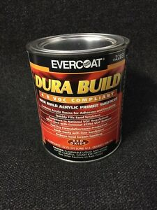 Evercoat High Build Acrylic Primer Surfacer red Oxide Fe 2283 quart