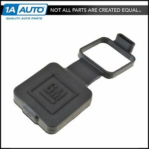 Oem Trailer Hitch Receiver Cover Gm Logo 2 For Chevy Gmc Cadillac Oldsmobile