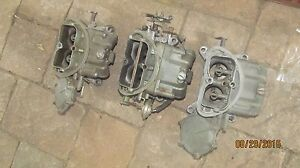 1967 Corvette Tri Power Dated Set Originals 427 3659 3660 743 721 743
