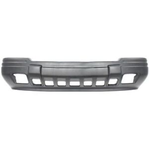 Front Bumper Cover W Fog Lamp Holes For 96 98 Jeep Grand Cherokee Ch1000842