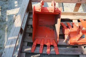 16 Heavy Duty Bucket For Bh90a Backhoes On L 30 40 Series Kubota Tractors