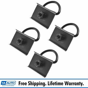 Oem Bed D Ring Tie Down Anchor Holder Plate Kit Set Of 4 For Toyota Tacoma New