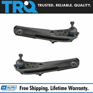 Trq Front Lower Control Arm W Ball Joint Pair Set For Mustang