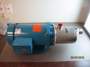 Goulds Hms 1hm1f5e3 Centrifugal Pump 5 Stage 38 Gpm 125 Psi 239ft Head Nsf