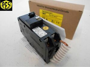 New Square D Qo220cafi 2 Pole 20 Amp 120 240v Combination Arc Fault Breaker 20a