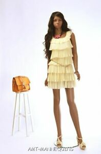 Female Standing Mannequin Full Body Stand African Girl Manikin Tanya 2 Wigs