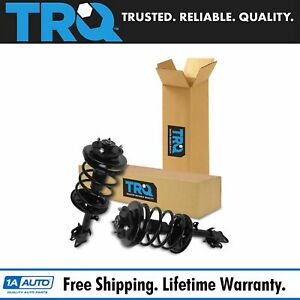 Trq Loaded Quick Complete Strut Spring Assembly Front Pair 2pc For Pilot Mdx
