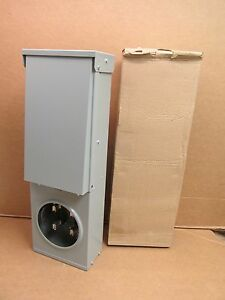 Nib Siemens Meter Power Outlet Panel 60 Amp 1 Phase 3 Wire 120 240v 20 A Gfi 3r
