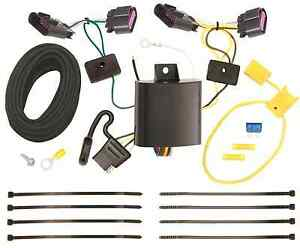 Trailer Wiring Harness Kit For 14 20 Dodge Durango All Styles Plug
