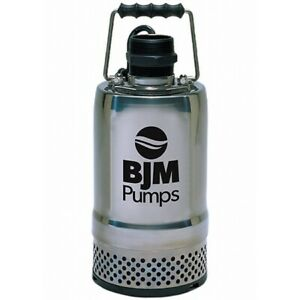Bjm Submersible Water Pump R250 1 5 inch Discharge 50 Gpm