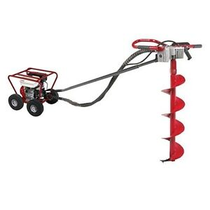 Little Beaver Post Hole Digger 8hp Honda augers Sold Separately