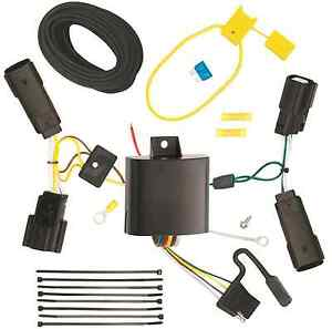 Trailer Wiring Harness Kit For 13 20 Ford Fusion All Styles Plug Play T one