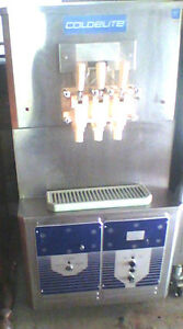 Ice Cream Machine Soft Serve Coldelite Super 2 Uf 832