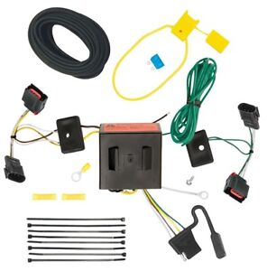 Trailer Wiring Harness Kit For 08 17 Jeep Patriot 08 10 Chrysler Town Country