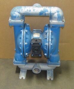 Warren Rupp Sandpiper S20b1agtans100 Aluminum Air Flow 2 Npt Diaphragm Pump