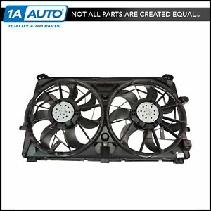 Dual Radiator Cooling Fan Assembly 15780788 For Chevy Gmc Pickup Truck Suv