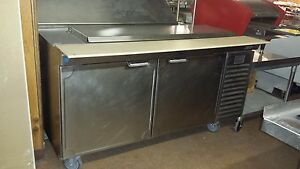 La Rosa 60 Sandwich Prep Table Custom Made For A Food Truck