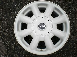 Mini Cooper 02 09 Wheel Rim Factory Alloy Oem 15 Used Original White