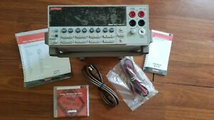 2000 e Keithley High Performance 6 1 2 Digit Dmm And Test Leads