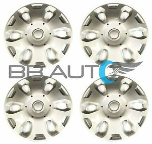 4 New 15 Wheel Covers Hubcaps Silver For 2010 2013 Ford Transit Connect Van