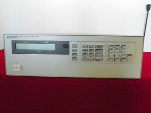 Agilent Hp 6628a Dual Precision Power Supply 50w Nist Cal W data 8 In Stock