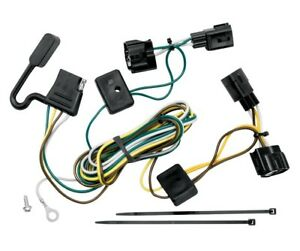 Trailer Wiring Harness Kit For 98 06 Jeep Wrangler All Styles Tj Canada Only