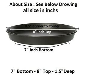 7 To 20 Inch Base Commercial Heavy Duty Noon Stick Hard Coated Pizza Pan 1 5