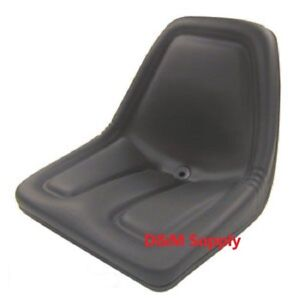 Black Michigan Style Lawn Tractor Seat To Fit Case Ih Massey Kubota Ford