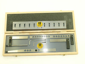 Fowler sylvac4 Piece Holder Set With Stand For Z cal Ii Height Gage