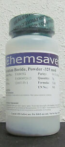 Tantalum Boride 99 5 metals Basis Powder 325 Mesh Certified 5g