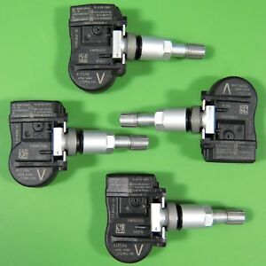Set Of 4 Nissan Tire Pressure Sensor Tpms Oem 40700 3an0a W o Keyless Set ts26