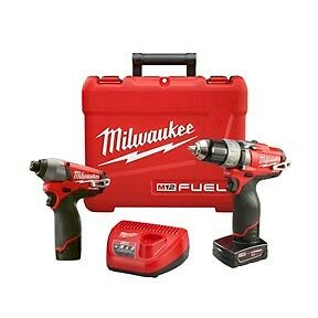 Milwaukee 2594 22 M12 Fuel 12v Cordless Lithium Ion 1 2 In Drill Driver