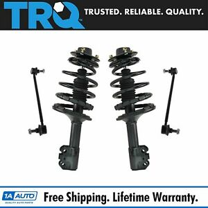 Strut Coil Spring Assembly W Sway Bar Link Kit Set Of 4 For Toyota Lexus New