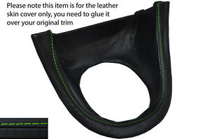 Green Stitch Manual Shift Bezel Surround Skin Cover Fits Ford Mustang 99 04