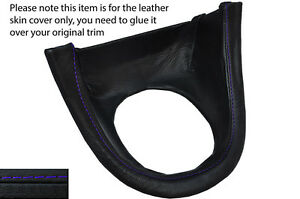 Purple Stitch Manual Shift Bezel Surround Skin Cover Fits Ford Mustang 99 04