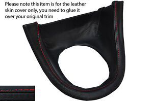 Red Stitch Manual Shift Bezel Surround Skin Cover Fits Ford Mustang 99 04