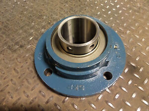 Skf Spherical Bearing Flange 4 Bolt Fyr 2 15 16 Z38 Fyr21516z38 476215b 215 New
