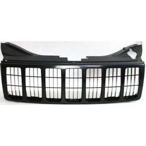Radiator Grille Black Paint To Match For 2005 2007 Jeep Grand Cherokee Wk
