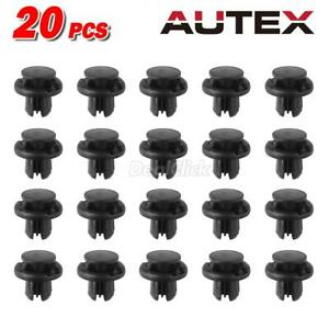 20 Grille Front Bumper Cooling Unit Push Type Clip Fastener For Honda Civic