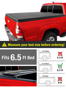 For 2014 2019 Toyota Tundra 6 5ft 78in Bed Premium Tri Fold Tonneau Cover