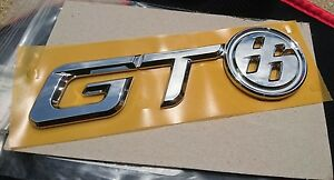 Toyota Gt86 Trunk Badge Genuine Rear Emblem Oem Chrome Logo Scion Frs Jdm Brz