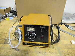 A Beckman Model 110a Liquid Chromatograph Pump 115v Solvent Delivery Pump a7s3