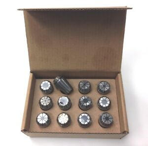 1 16 1 2 Er20 12 Piece Spring Collet Set 3900 5205
