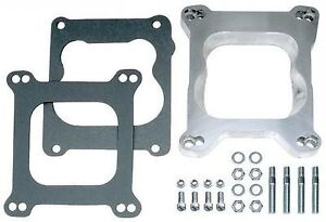Carb Adapter Holley To Quadrajet Q Jet Spread Bore Square Bore Edelbrock