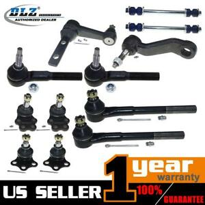 12 Pcs Front Suspension Kit Ball Joint For 2000 2001 Dodge Ram 1500 Rwd
