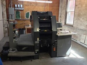 1997 Heidelberg Di Classic Offset Press qmdi46 4 W ps3 Rip 18 Million Imp