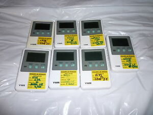 Vwr Digital Thermometers 7 Total