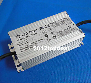 100w Waterproof Constant Current Led Driver Ac85 265v To Dc30 36v 3000ma
